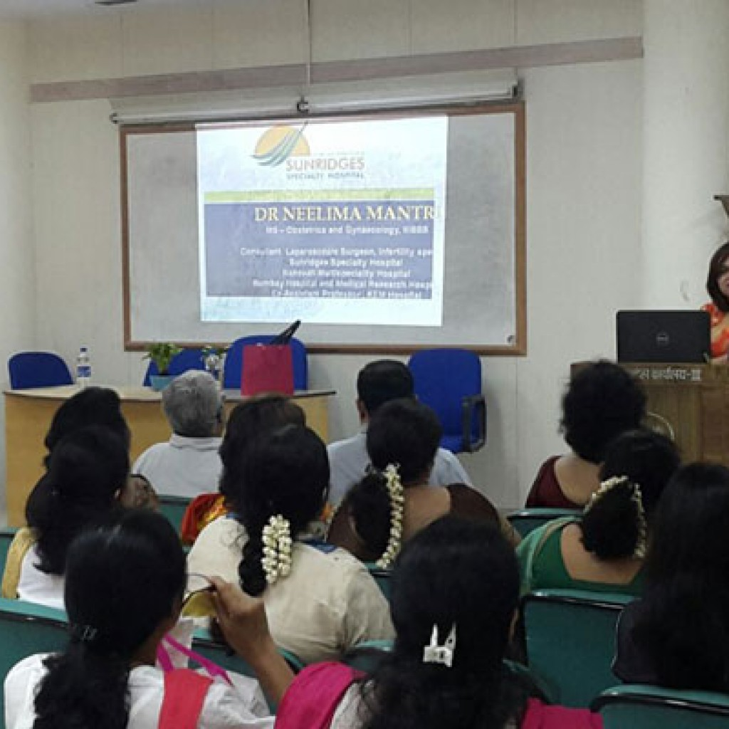 """Health Talk on Cancers in Females"" – Women's Day"